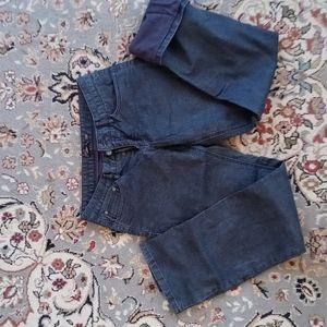 Prana Flannel-lined Jeans Women's 6 Black